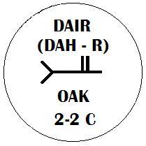 Dair - Oak Ogham