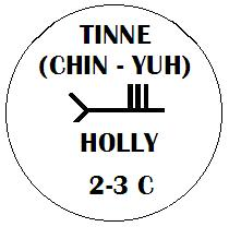 Tinne - Holly Ogham